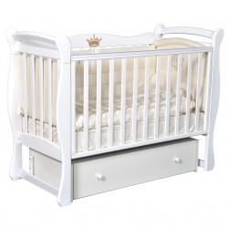Кроватка Алита-4(бук, орех)