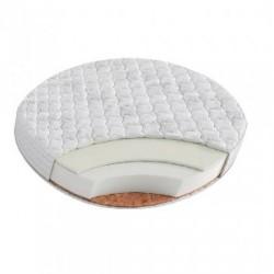 Матрас в круглую кроватку Round Holo + Kokos